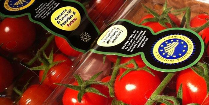 I pomodori e i marchi di tutela